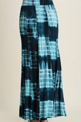 Umgee USA Tie-Dye Maxi Skirt