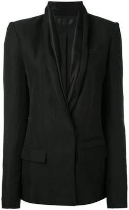 Haider Ackermann shawl collar blazer