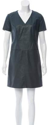 Yigal Azrouel Cut25 by Leather Mini Dress