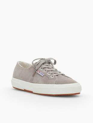 Talbots Superga® Sneakers - Shearling-Lined Suede
