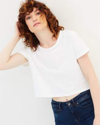 G Star Collow Straight Cropped SS Tee