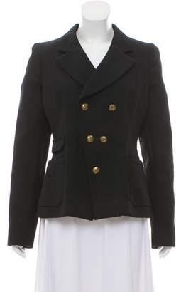Balenciaga Wool Double-Breasted Blazer