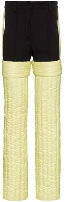 Colmar A.G.E. By Shayne Oliver Quilted wool and spandex ski trousers