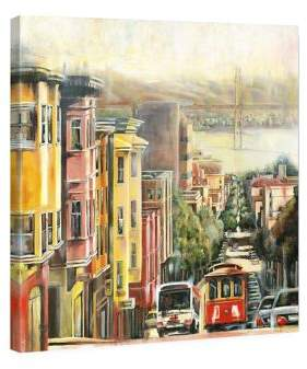 Marmont Hill Down To The Bay Painting Print on Wrapped Canvas