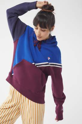 Champion Colorblock Hoodie Sweatshirt