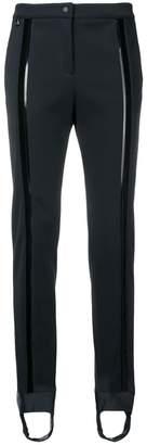 Fendi stirrup slim-fit trousers
