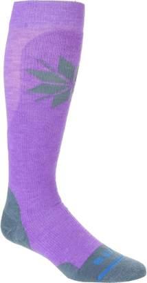 Fits Medium Ski Over-The-Calf Socks - Women's