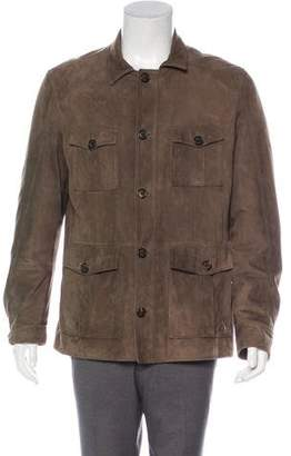 Brunello Cucinelli Suede Field Jacket