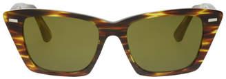 Acne Studios Tortoiseshell Ingridh Cat Eye Sunglasses