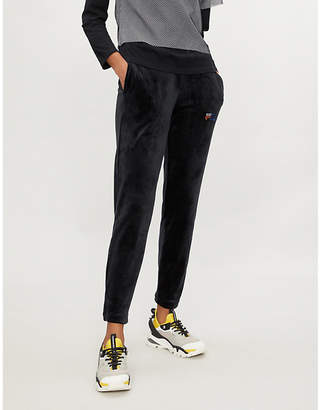 Fila Oriana velour jogging bottoms