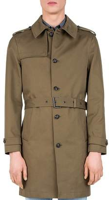 The Kooples Gabardine Trench Coat