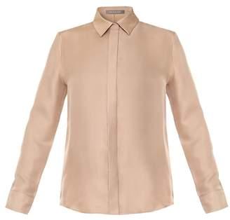 Varana Blush Silk Heavenly Shirt