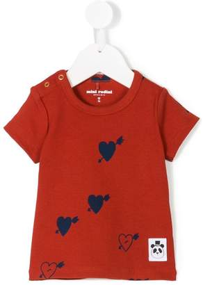 Mini Rodini heart print T-shirt