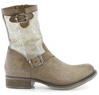 Bunker Mika Leather Ankle Boots
