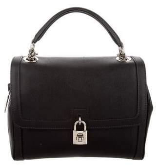 Dolce & Gabbana Leather Satchel Bag