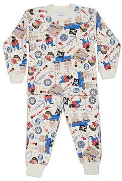 Sara's Prints Kids - Pajamas (Toddler/Little Kids/Big Kids) (A Pirate's Life)