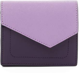 Botkier Mini Cobble Hill Colorblock Leather Wallet