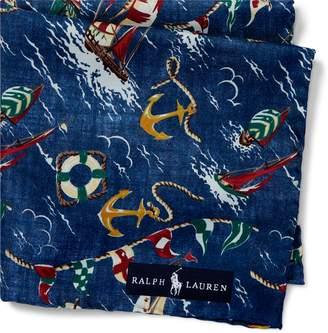 Ralph Lauren Nautical Pocket Square