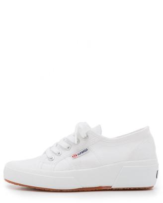 Superga Cotu Wedge Sneakers - ShopStyle Platforms
