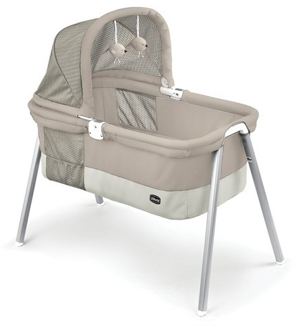 Chicco Chicco Lullago Deluxe Portable Bassinet-Taupe