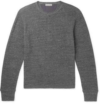 Alex Mill Waffle-Knit Cotton Henley T-Shirt