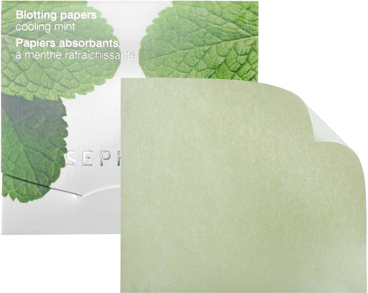 Sephora Cooling Mint Blotting Papers