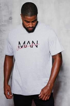 boohoo Big & Tall MAN Collective Printed T-Shirt