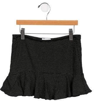 Chloé Girls' Polka Dot Skirt