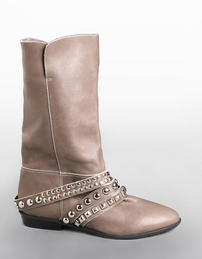 Matisse Sidd Studded Leather Short Boots