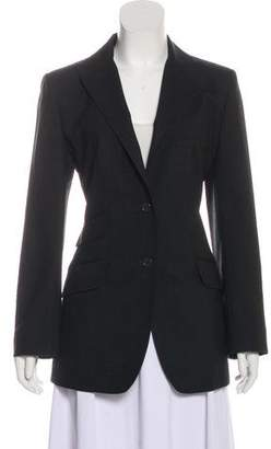 Dolce & Gabbana Virgin Wool Peak-Lapel Blazer