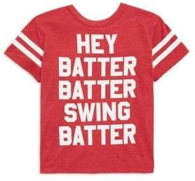 Chaser Toddler's, Little Boy's & Boy's Hey Batter Tee