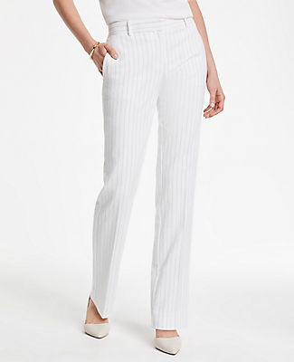 Ann Taylor The Straight Pant In Pinstripe