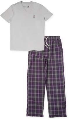 Psycho Bunny Men's Woven Shirt & Pants Gift Set
