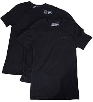 Columbia Men's 3-Pack Cotton Crew Neck T-Shirt
