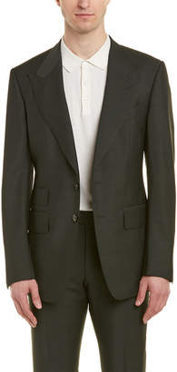 Tom Ford Shelton 2Pc Wool & Mohair-Blend Suit With Flat Pant