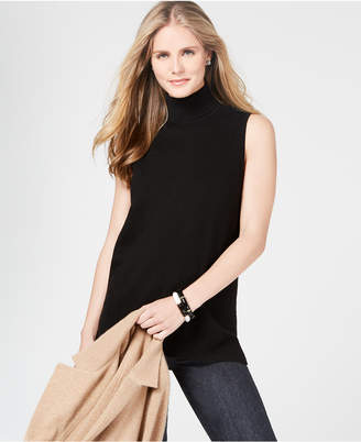 Charter Club Pure Cashmere Turtleneck Sweater in Regular & Petite Sizes