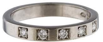 Bvlgari Platinum Diamond Marryme Wedding Band
