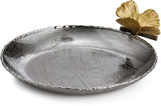 Michael Aram Butterfly Ginkgo Round Trinket Tray