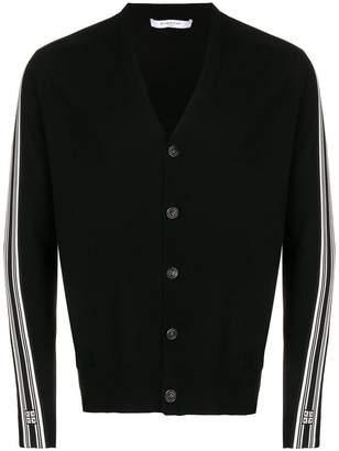 Givenchy side stripe cardigan