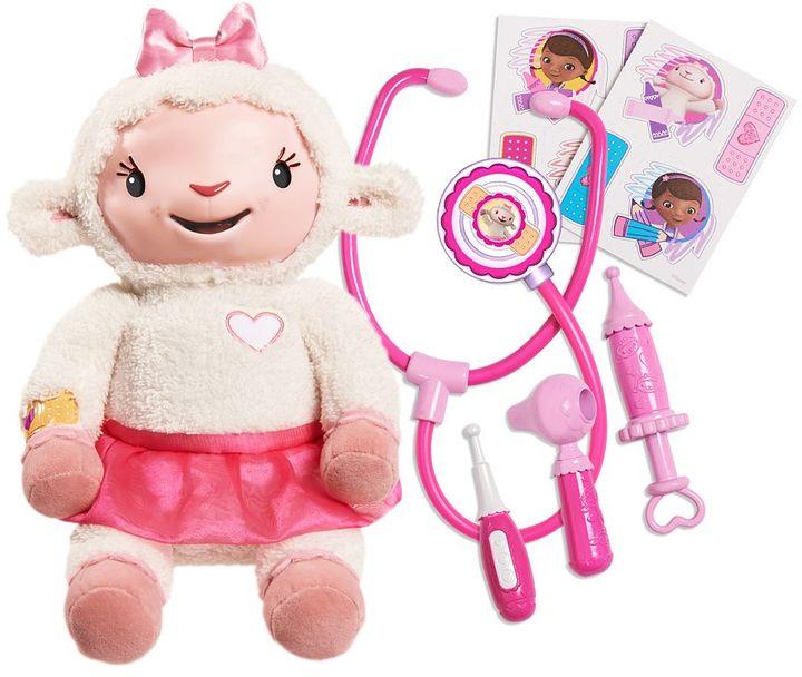Disney's Doc McStuffins Take Care of Me Lambie Plush Doll