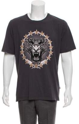 Just Cavalli Woven Graphic T-Shirt
