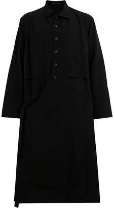 Yohji Yamamoto half button coat