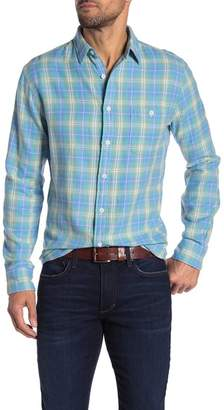 Faherty BRAND Seaview Plaid Print Shirt