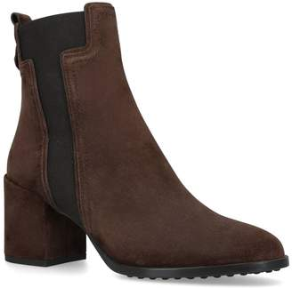 J.P Tods Suede Ankle Boots 70