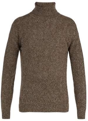 Blend of America The Gigi - Cory Alpaca And Merino Wool Sweater - Mens - Brown Multi