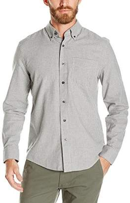 Jack Spade Men's Palmer Heather Houndstooth Button Down Shirt