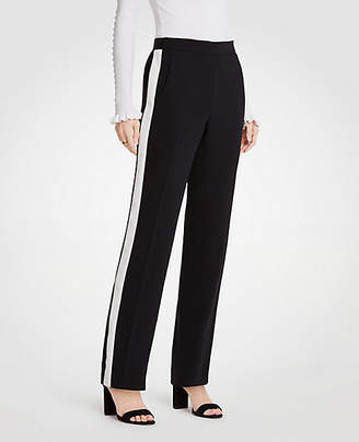 Ann Taylor Petite Side Stripe Track Pants