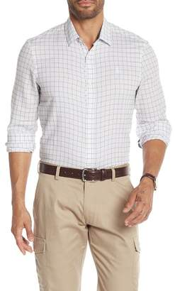 Original Penguin Grid Long Sleeve Heritage Slim Fit Shirt