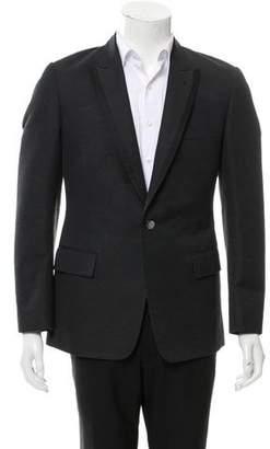 Rake Wool-Blend Tuxedo Jacket