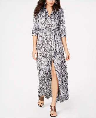 INC International Concepts I.N.C. Full-Sweep Shirtdress, Created for Macy's